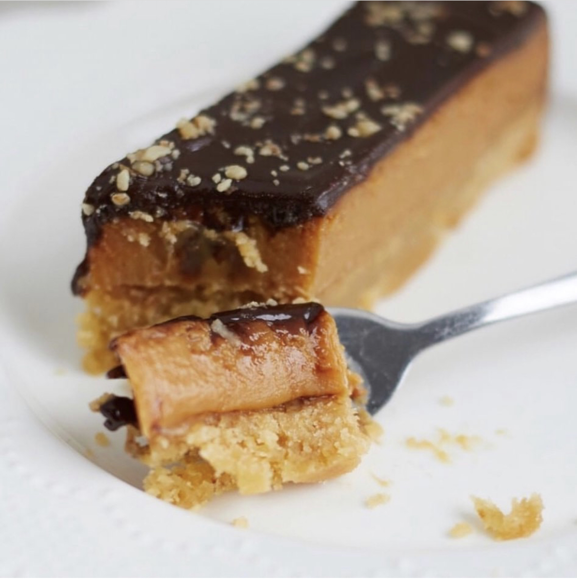 Good Karma caramel slice