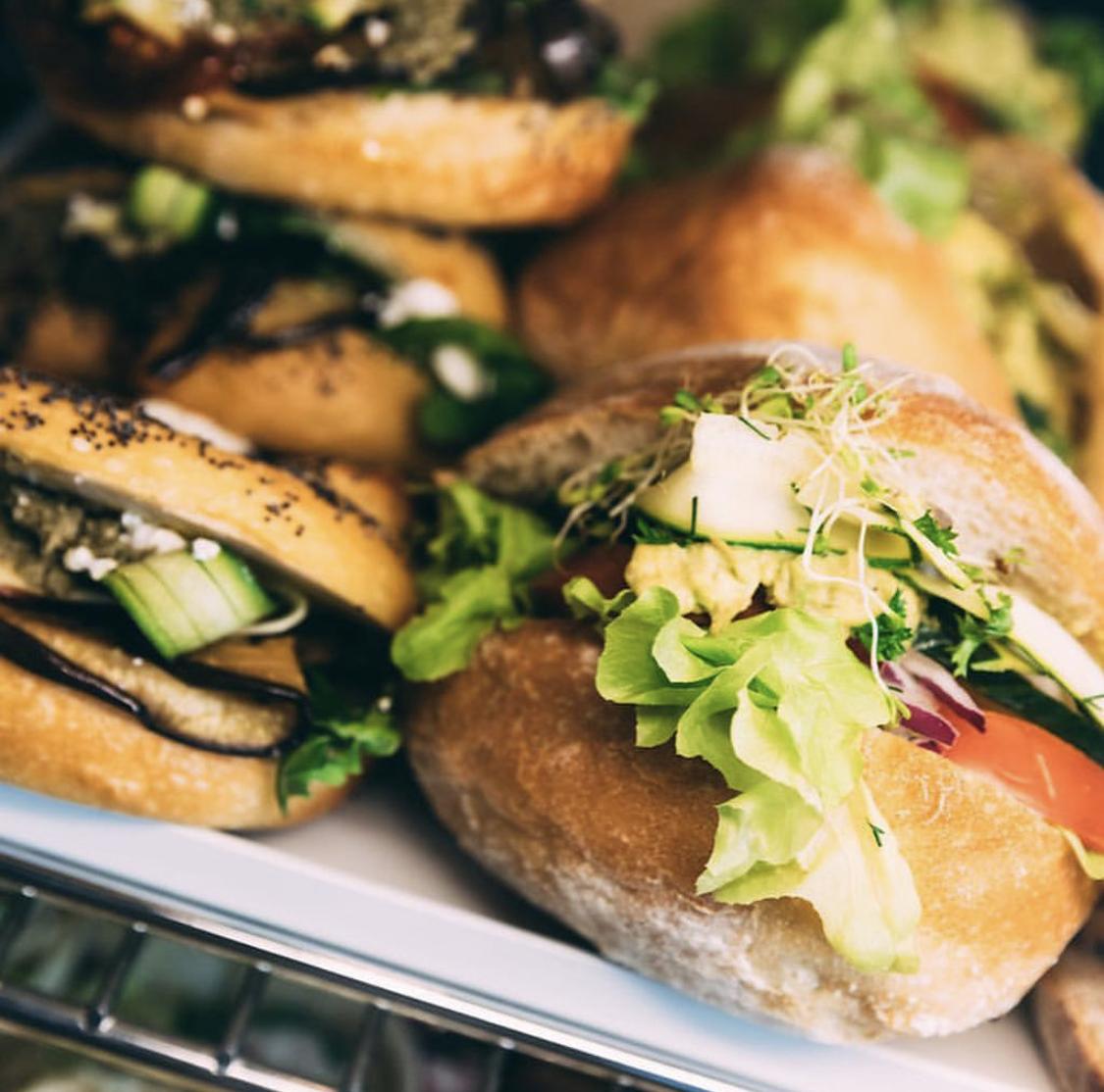 Good Karma breakfast sandwiches