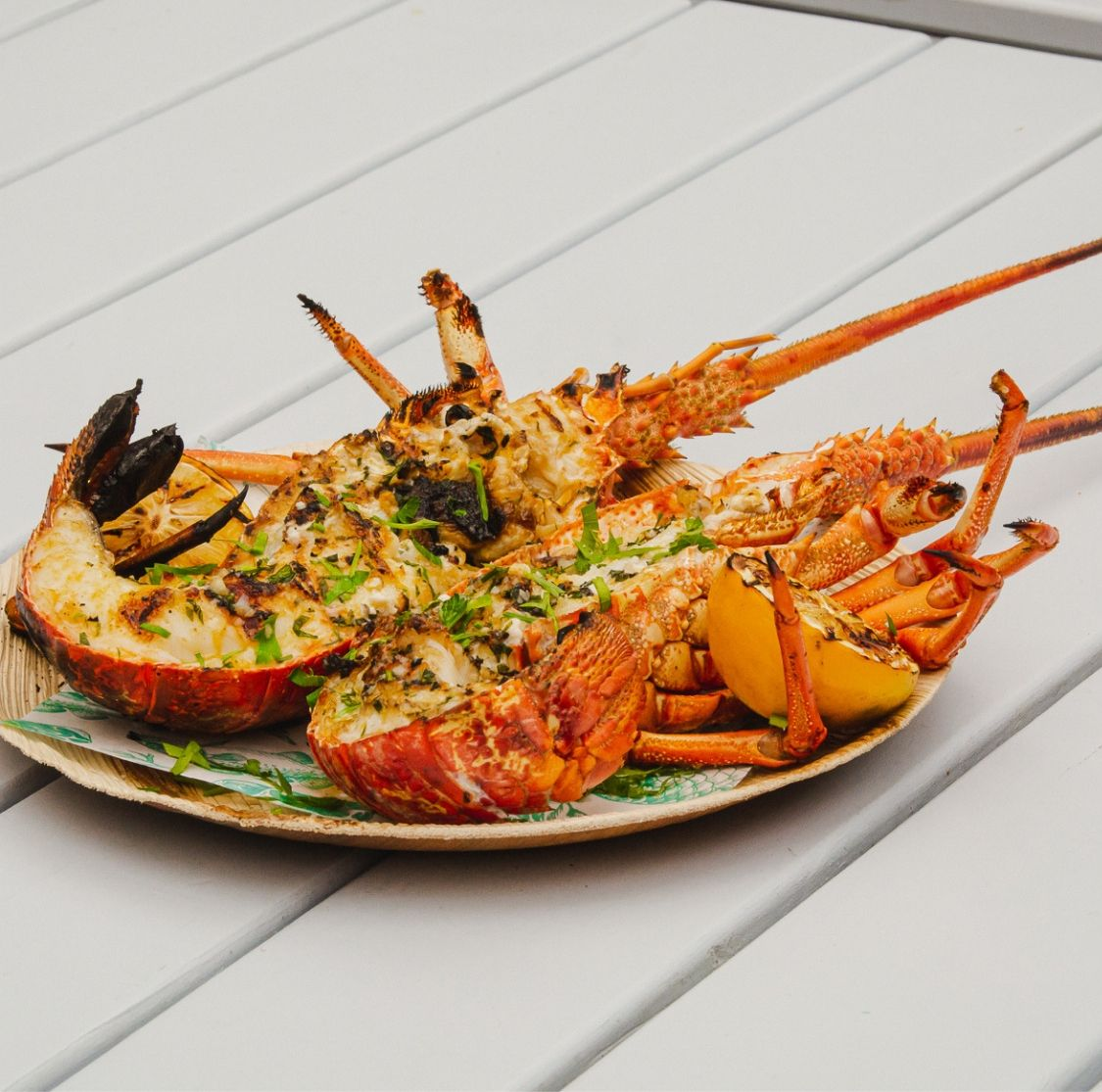Mar and Tierra Grilled Crayfish