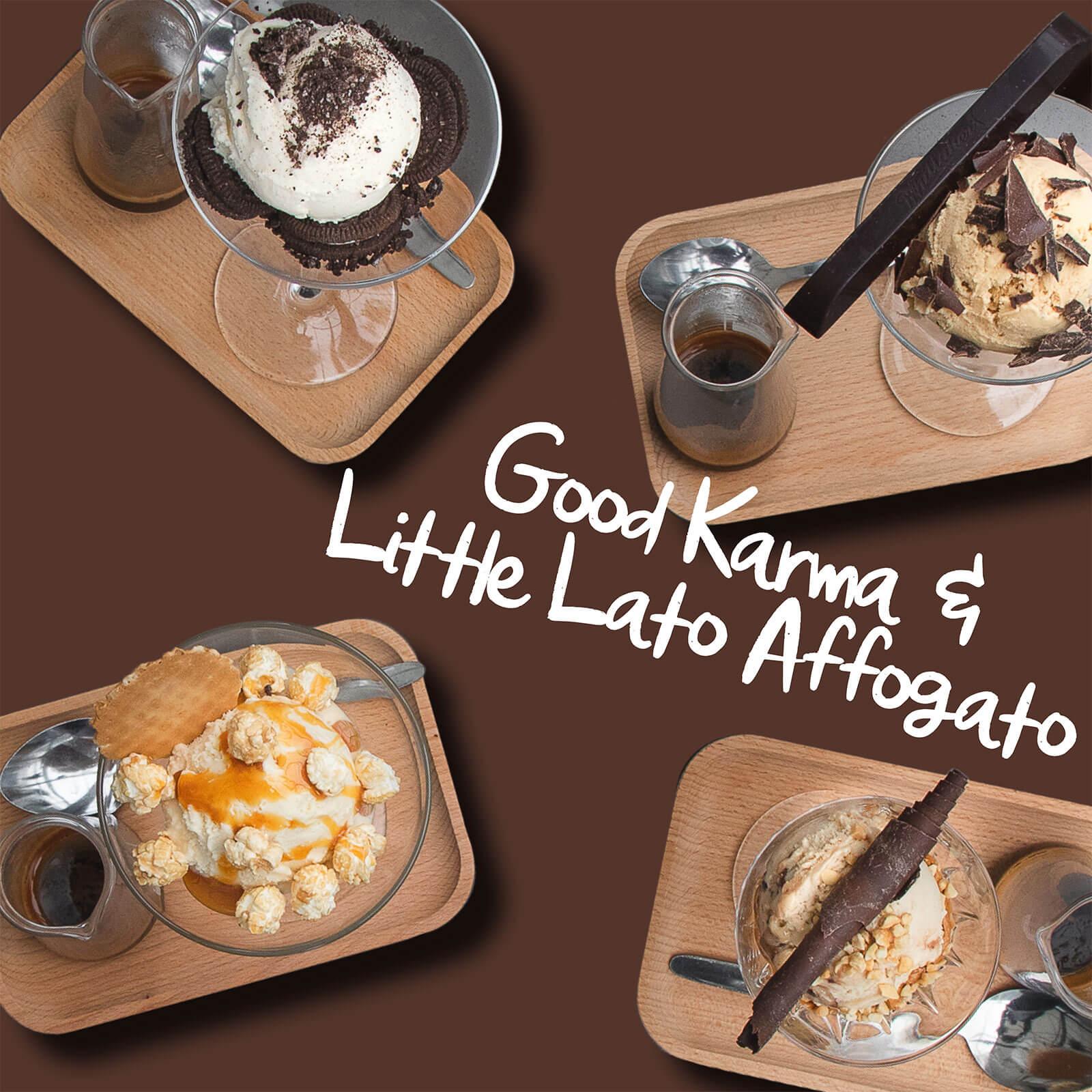 Restaurant Month Good karma and Little Lato Affogato
