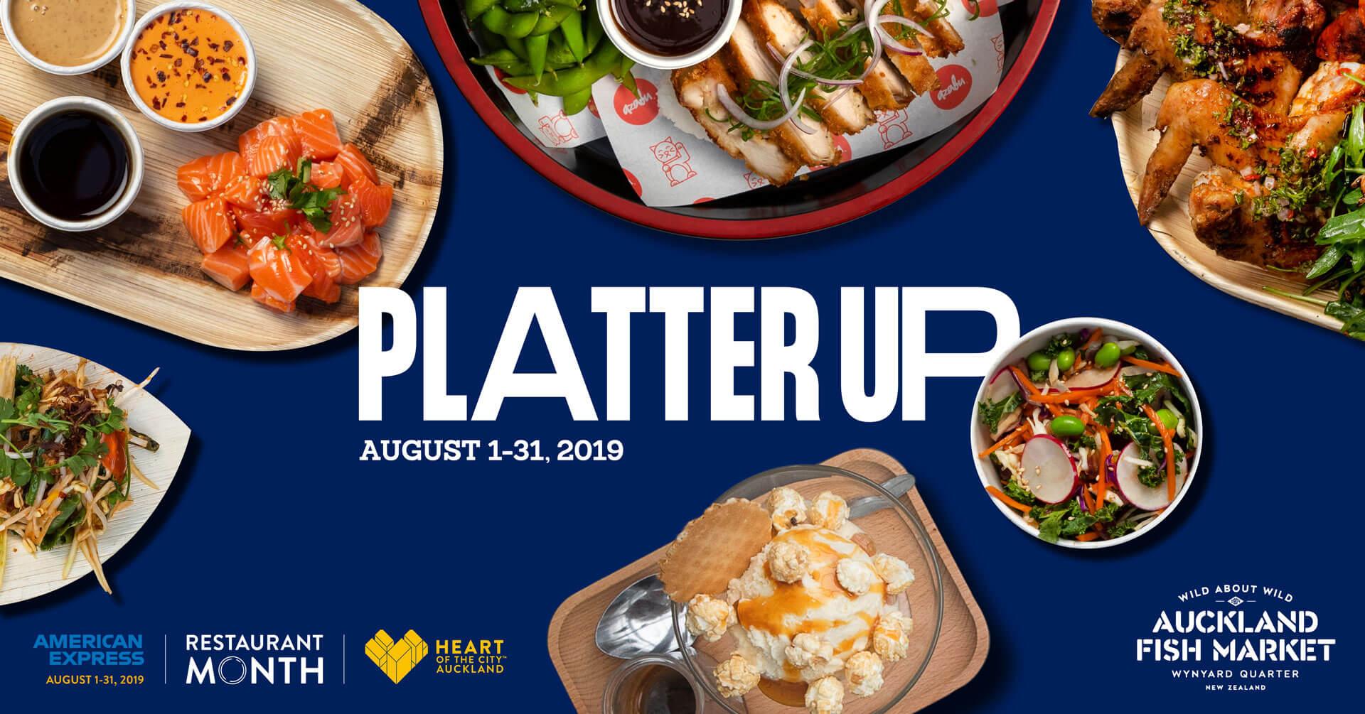 Platter Up for Restaurant Month