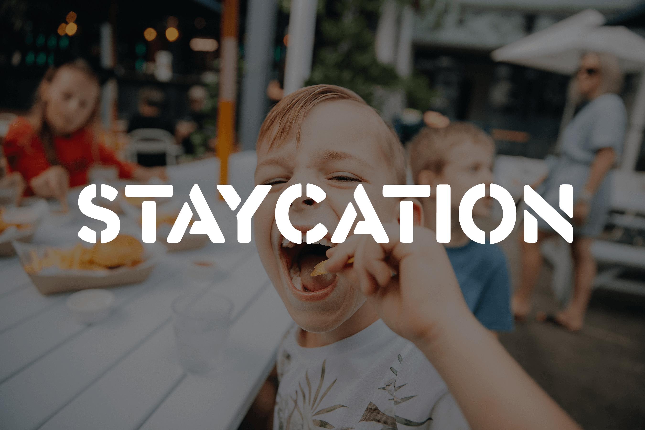 Staycation at AFM