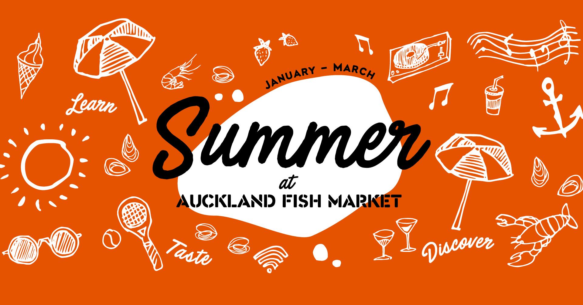 Summer at Auckland Fish Market