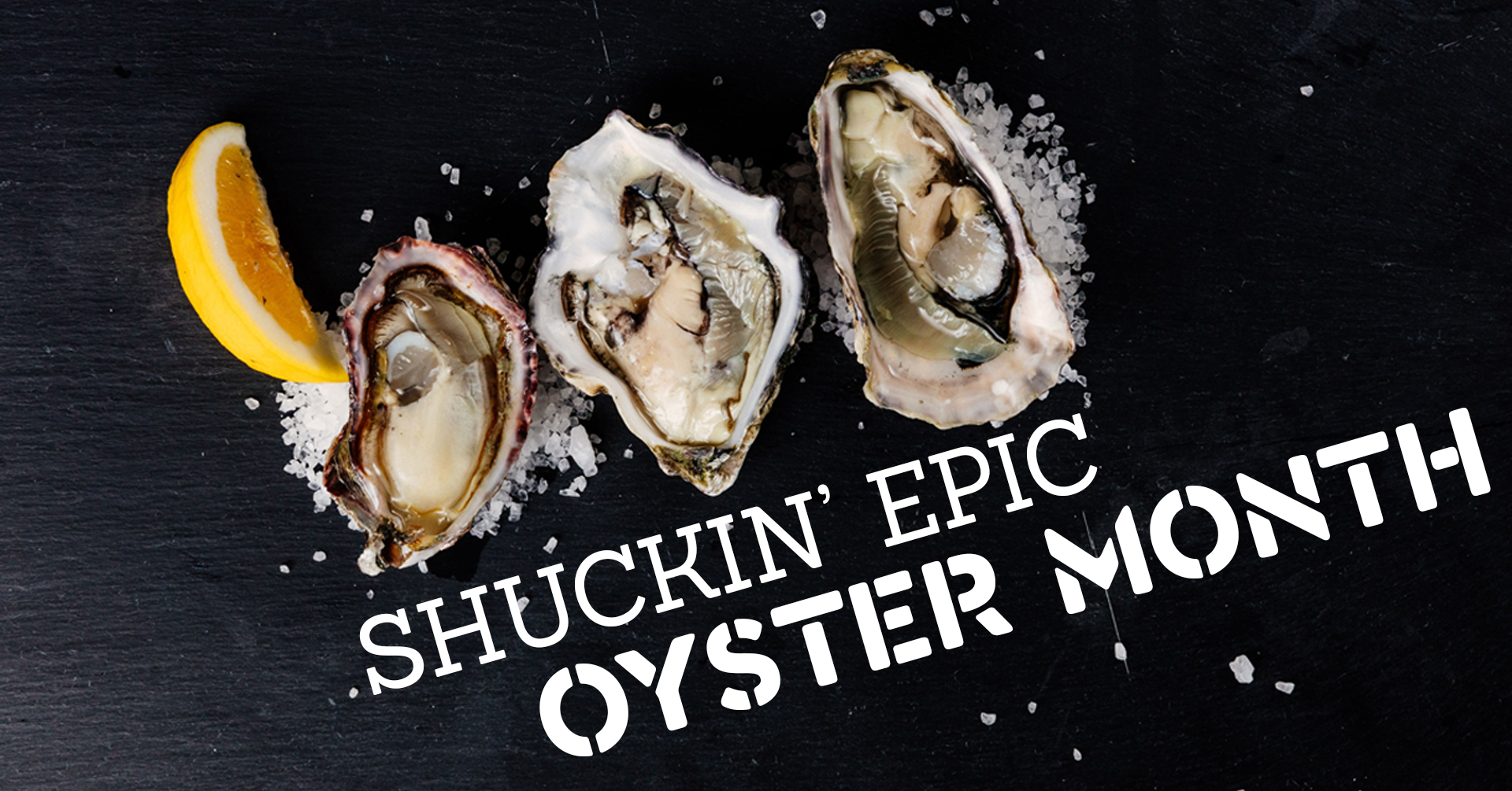 Oyster month creative