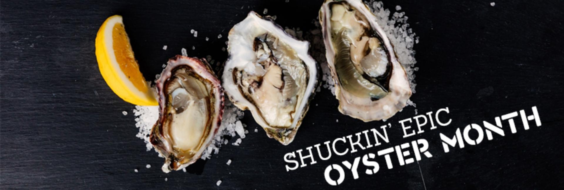 Oyster month at AFM