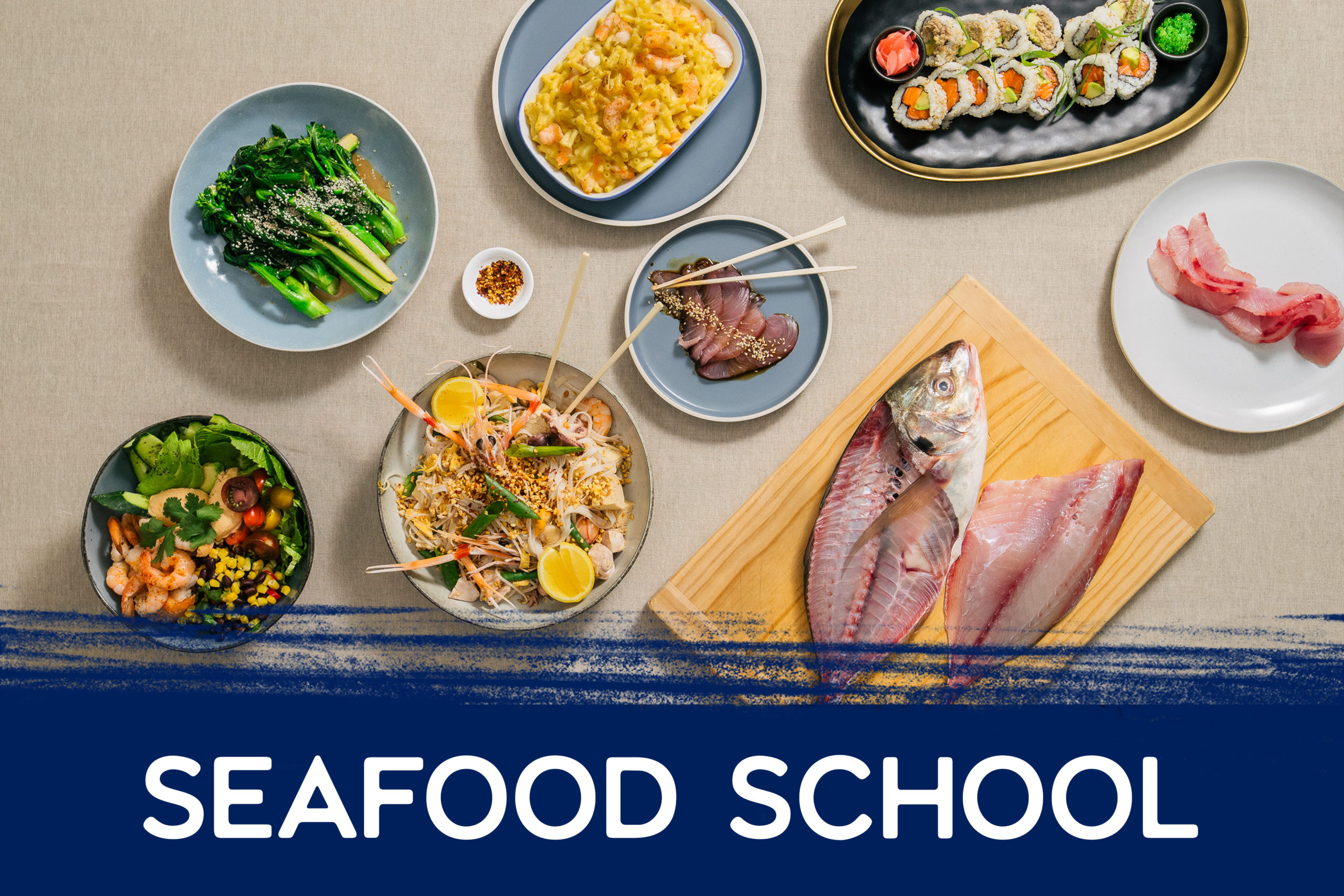 Seafood School at Auckland fish market