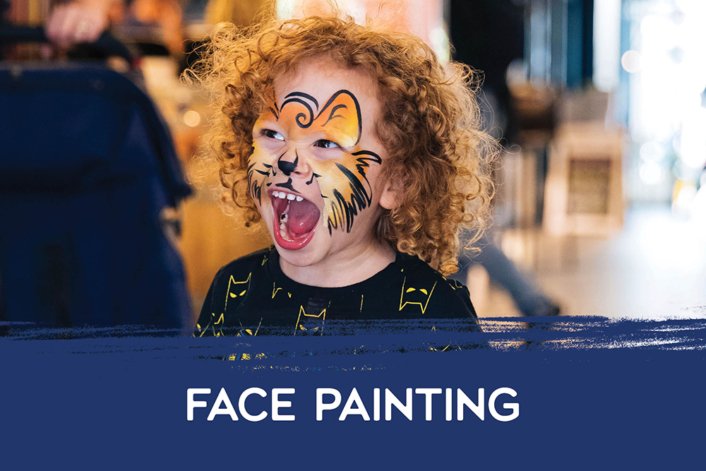 America's Cup Face Painting